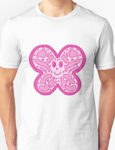 Pink Butterfly Face T-Shirt