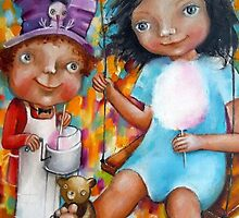 Mr Cotton Candy by Monica Blatton