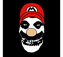 Misfit Mario Photographic Print