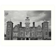 Blickling Hall Art Print
