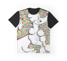 WHITE POODLE Graphic T-Shirt