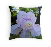 Wild Foxglove Throw Pillow