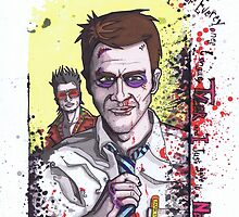Fight Club #3 Tyler and I just gave it a name by Spencer Holdsworth Art