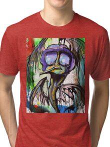 Bat Country by: Ryan Case Tri-blend T-Shirt