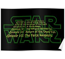Star Warz - Episode Joke List Poster