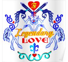 ۞»♥Unicorns: Legendary Love Prints, Cards & Posters♥«۞ Poster