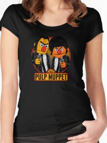 Pulp Muppet Street Women's Fitted Scoop T-Shirt
