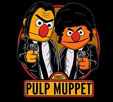 Pulp Muppet Street by NinoMelon