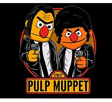 Pulp Muppet Street Photographic Print