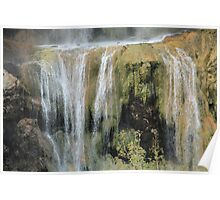 Magical waterfall Poster