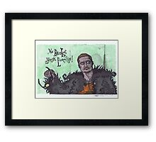 Fight Club #5 You Broke your Promise Framed Print