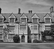 Anglesey Abbey, Black and White by James Taylor