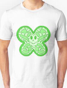 Green Butterfly Face T-Shirt