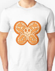Orange Butterfly Face T-Shirt