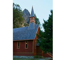 Yosemite Chapel Photographic Print
