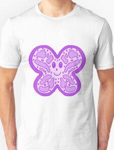 Purple Butterfly Face T-Shirt
