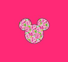 Lilly Pulitzer Inspired Mouse Ears First Impression by mlr28blu