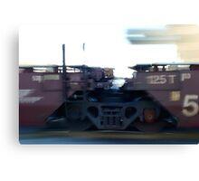 Train Tires Canvas Print