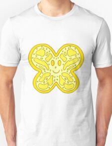 Yellow Butterfly Face T-Shirt