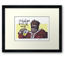 Fight Club #4 It Could Be Worse... Framed Print