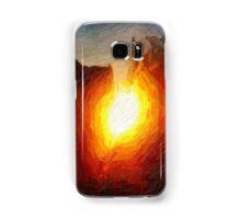 Burning Samsung Galaxy Case/Skin