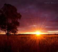 Western NSW Sunset by Kate Wall