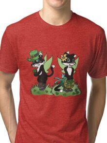 St Patrick's Cait Sith Romance Tri-blend T-Shirt