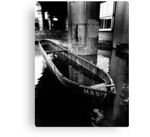 Castlefield Barge Canvas Print
