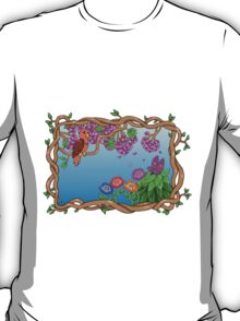 Bird in a Blossom Garden T-Shirt