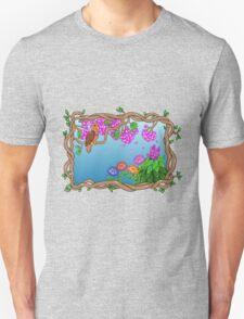 Bird in a Blossom Garden T-Shirt