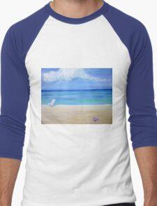 Honeymoon in the Maldives Men's Baseball ¾ T-Shirt