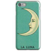 Tarot Card - La Luna - loteria - The moon iPhone Case/Skin