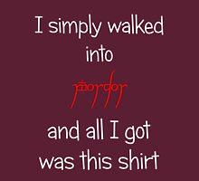 Souviner from Mordor in White Unisex T-Shirt