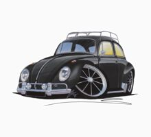 VW Beetle (Custom H) Kids Tee