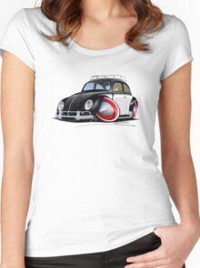 VW Beetle (Custom I) Women's Fitted Scoop T-Shirt