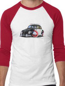 VW Beetle (Custom I) Men's Baseball ¾ T-Shirt