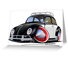 VW Beetle (Custom I) Greeting Card