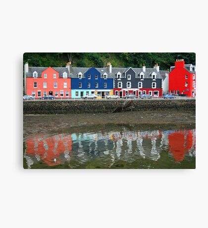Tobermory Revisited Canvas Print