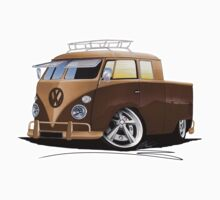 VW Splitty Crew Cab Pick-Up (B) by Richard Yeomans
