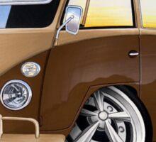 VW Splitty Crew Cab Pick-Up (B) Sticker