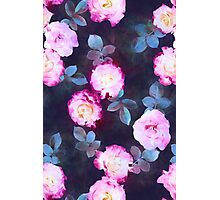 Twilight Roses Photographic Print