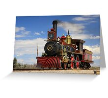 "Steam locomotives ""119"" Greeting Card"