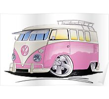 VW Splitty (11 Window) G Poster