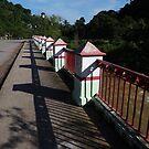 Bridge In The Morning Light - Puente En La Luz De La Mañana by Bernhard Matejka