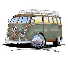 VW Splitty (23 Window) D Photographic Print