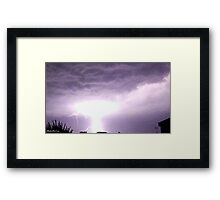 Lightning 2012 Collection 1 Framed Print