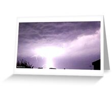 Lightning 2012 Collection 1 Greeting Card