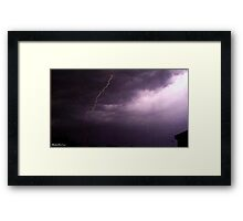 Lightning 2012 Collection 3 Framed Print