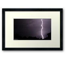 Lightning 2012 Collection 7 Framed Print