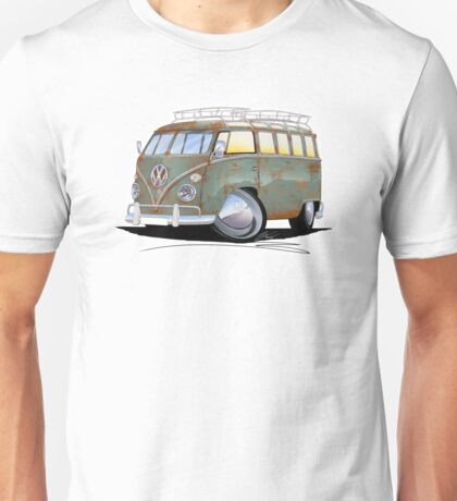 VW Splitty (23 Window) D Unisex T-Shirt